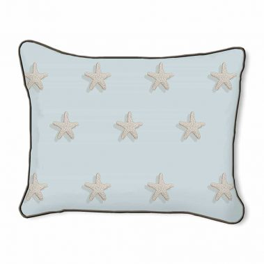 Casart Decor_Starfish-B_14x18-w_pillow slipcover