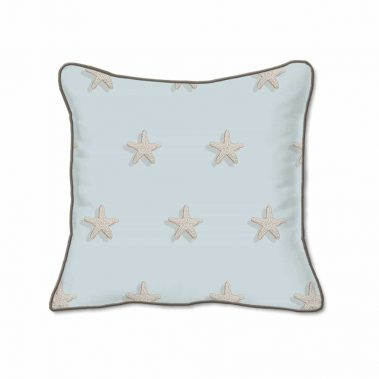 Casart Decor_Starfish Coastal-B_SQ-w_pillow slipcover