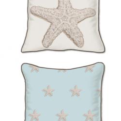 Casart Decor_Starfish-Coastal_SQ-w_pillow slipcover