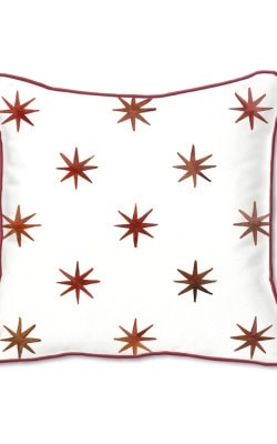 Casart Decor_Stars & Stripe Architectural Accents pillow slipcover