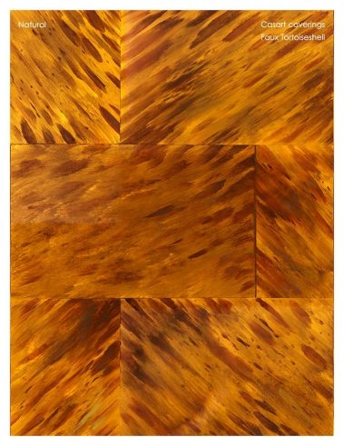 Casart coverings Natural Faux Tortoiseshell 1_sample