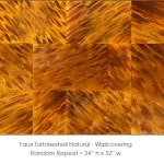 Casart coverings_Faux Tortoiseshell 1 Natural_wallcovering