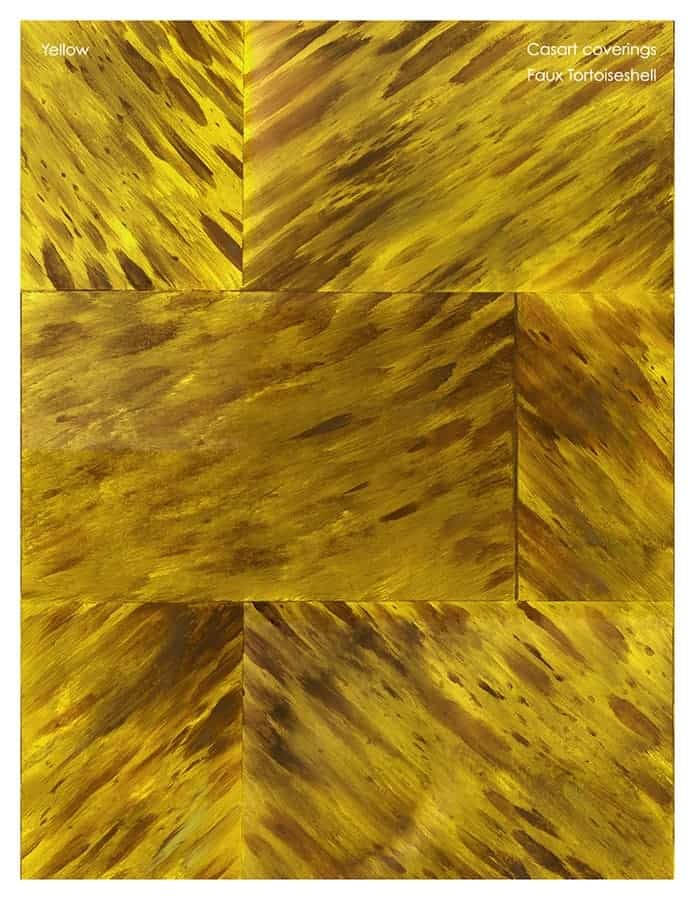 Casart coverings Natural Faux Tortoiseshell 1 Yellow_sample