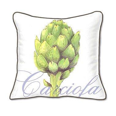Casart coverings Artichaut Botanical Pillow Slipcover