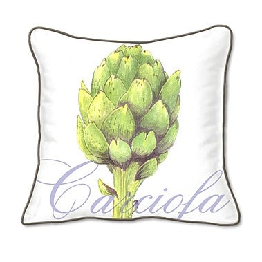 Casart coverings Artichaut Botanical Pillow Slipcover