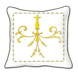 Casart coverings Grotesca Scroll Pillow Slipcover