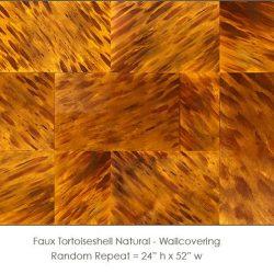 Casart coverings Tortoiseshell 1 Natural_wallcovering_variation