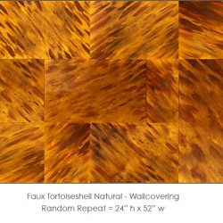 Casart coverings Tortoiseshell 1 Natural_wallcovering_variation