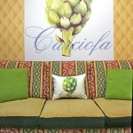Casart Decor_Artichaut-wallcovering and pillowcover