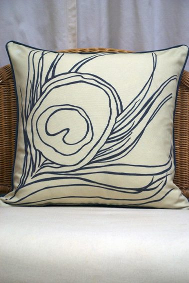 Casart Decor_Reversible-Quill-Down-Anise_Pillowcover_front