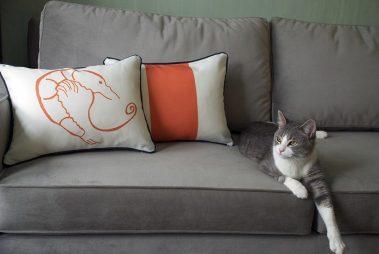 Casart-Decor_Reversible-orange-Shrimp-Creole-couch_pair