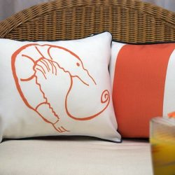 Casart-Decor_Orange-Reversible-Shrimp-Creole-tropical_pair