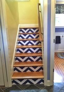 Casart Customer Stairs after zig zag Chevron_gallery