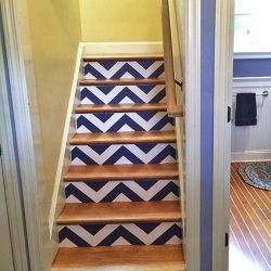 Casart Customer Stairs after zig zag Chevron_gallery