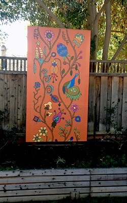 Customer pic_Pasture Mural Panel_Casart coverings