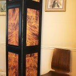Screen with Casart Coverings Natural Tortoiseshell 1 Room View