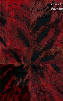 Casart coverings Tortoiseshell 2 Red_Sample swatch