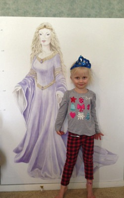 Casart Customer_Princess Growth Chart and little princess