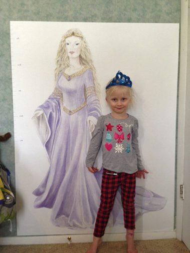 Casart Customer_Princess Growth Chart and little princess