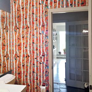 Casart coverings Birds and Birch customer installation