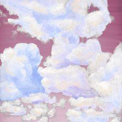 1_Casart coverings_Ceiling Cumulonimbus_Clouds Sunrise Sky_temporary wallpaper