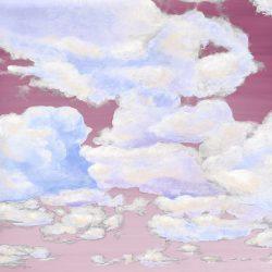 Casart coverings 1_Cumuloninbus Clouds Sunrise Sky_temporary wallpaper