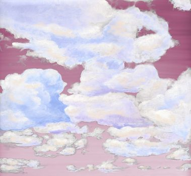 Casart coverings 1_Cumuloninbus Clouds Sunrise Sky_temporary wallpaper
