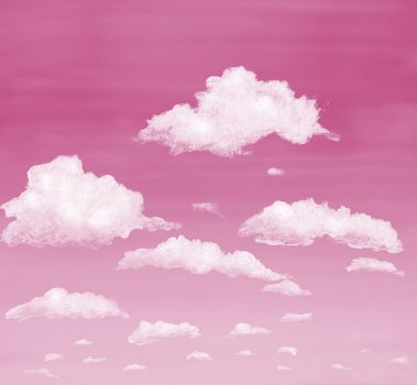 1_Casart coverings Stratocumulus Clouds_Sunrise_temporary wallpaper