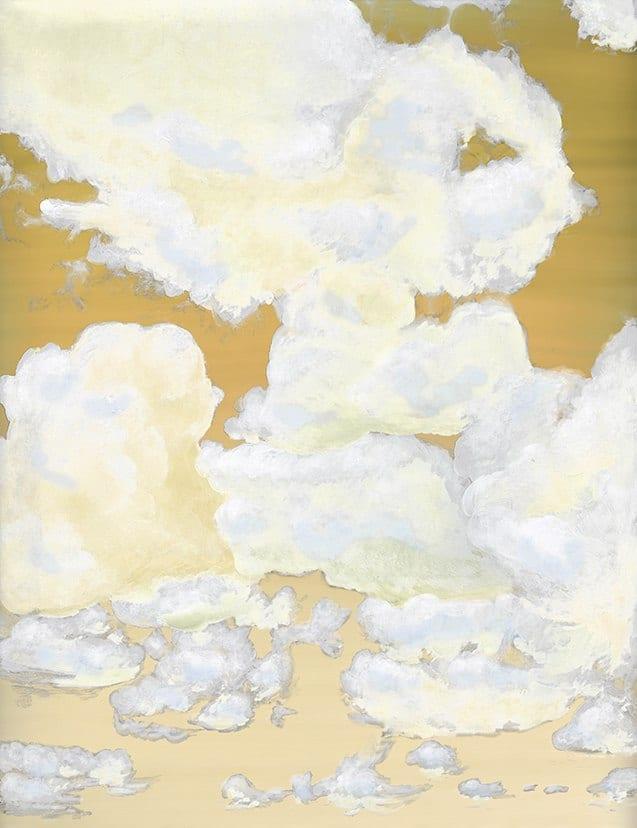 2_Casart coverings_Ceiling Cumuonimbus_Clouds Morning Sky_temporary wallpaper