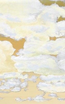Casart coverings 2_Cumuloninbus Clouds Morning Sky_temporary wallpaper