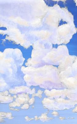 3_Casart coverings_Ceiling Cumuloninbus_Clouds Daylight Sky_temporary wallpaper