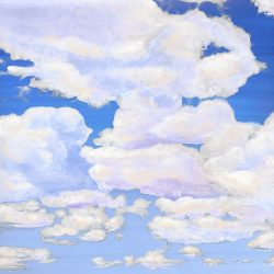 Casart coverings_3_Cumuloninbus Clouds Daylight Sky_temporary wallpaper