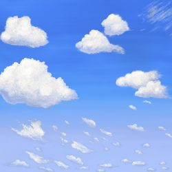 3_Cumulus Clouds Daylight_temporary wallpaper