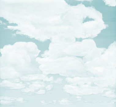 Casart coverings_5_Cumuloninbus Clouds Ocean Soft Sky_temporary wallpaper