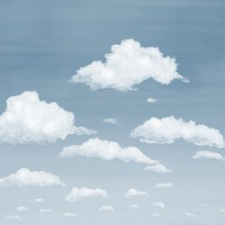 5_Casart coverings Stratocumulus Clouds_Cloudy_temporary wallpaper