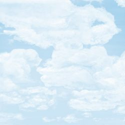 Casart Coverings_6 Cumulonimus Clouds Light Cyan Soft Shadows Sky_temporary wallpaper