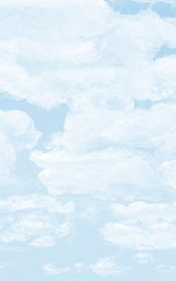 Casart coverings_6_Cumulonimus Clouds Light Cyan Soft Shadows Sky_temporary wallpaper