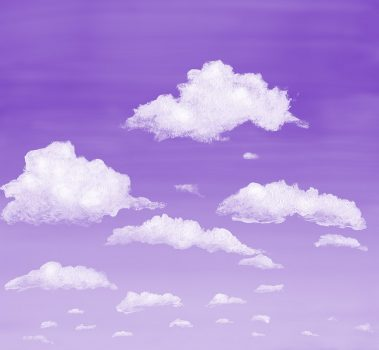 6_Casart coverings Stratocumulus Clouds_Dusk_temporary wallpaper