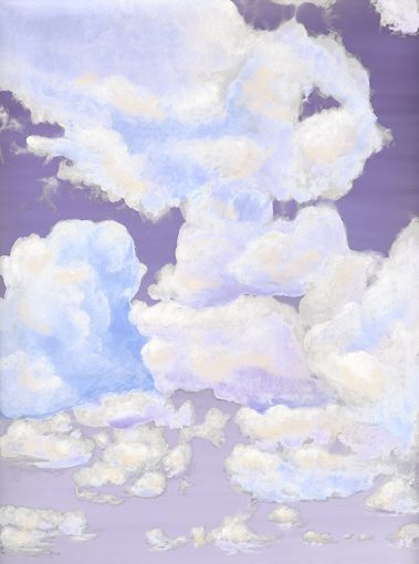 7_Casart coverings_Ceiling Cumulonimbus_Clouds Dusk Sky_temporary wallpaper