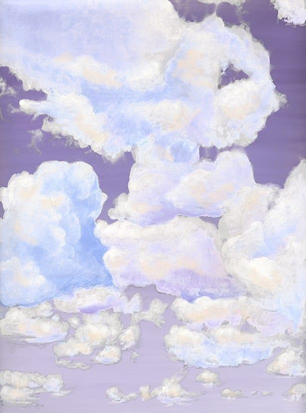 7_Casart coverings_Ceiling Cumulonimbus_Clouds Dusk Sky_temporary wallpaper