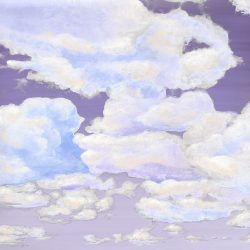 Casart coverings 7_Cumuloninbus Clouds Dusk Sky_temporary wallpaper