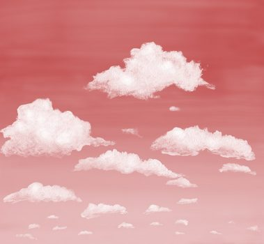 7_Casart coverings Stratocumulus Clouds_Sunset_temporary wallpaper