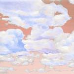 Casart coverings 8_Cumuloninbus Clouds Sunset Sky_temporary wallpaper