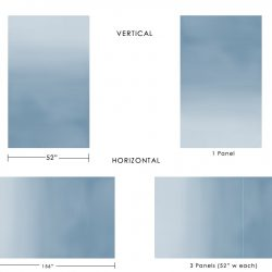 Casart coverings Ombre Gradient visual explanation_temporary wallpaper