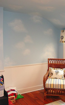 Casart Client Example of Clouds on ceiling and walls_w