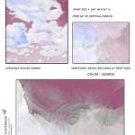 Casart coverings_Cumuloninbus_Wall Cloud Sunrise Sample_temporary wallpaper