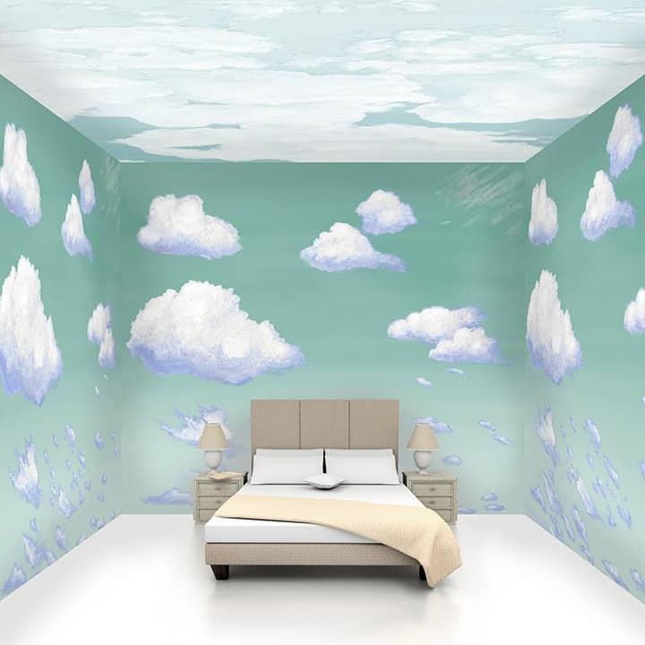 Casart Coverings Ocean Cumulus and Ceiling Cumuloninbus Cloud Room