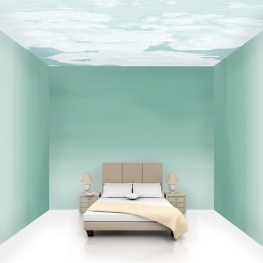 Casart coverings Ocean Gradient 2 room view