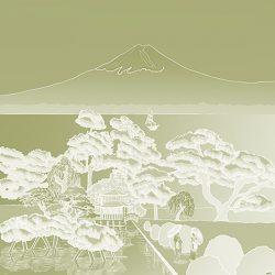 Casart coverings_Japan Panel_Celadon Gradient REVERSE_468x864_temporary wallpaper