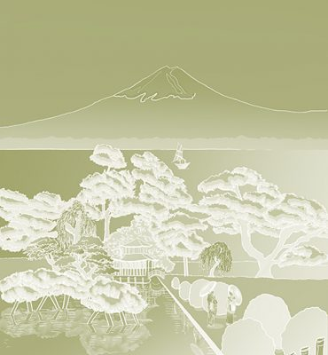 Casart coverings_Japan Panel_Celadon Gradient REVERSE_468x864_temporary wallpaper